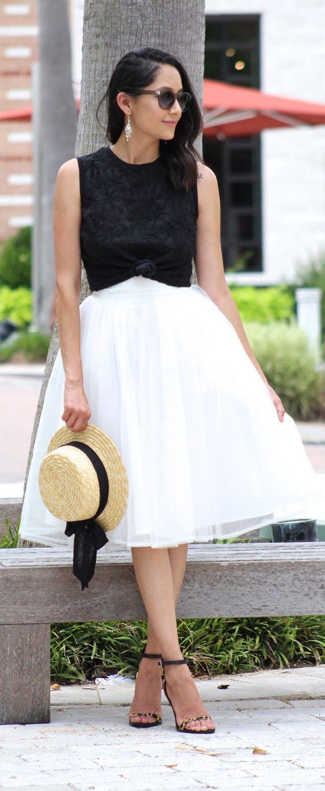 Tulle Skirt Fashion Ideas