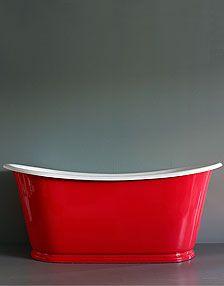 Lipstick Red Bath Interior Design News Bathroom Trends Drummonds