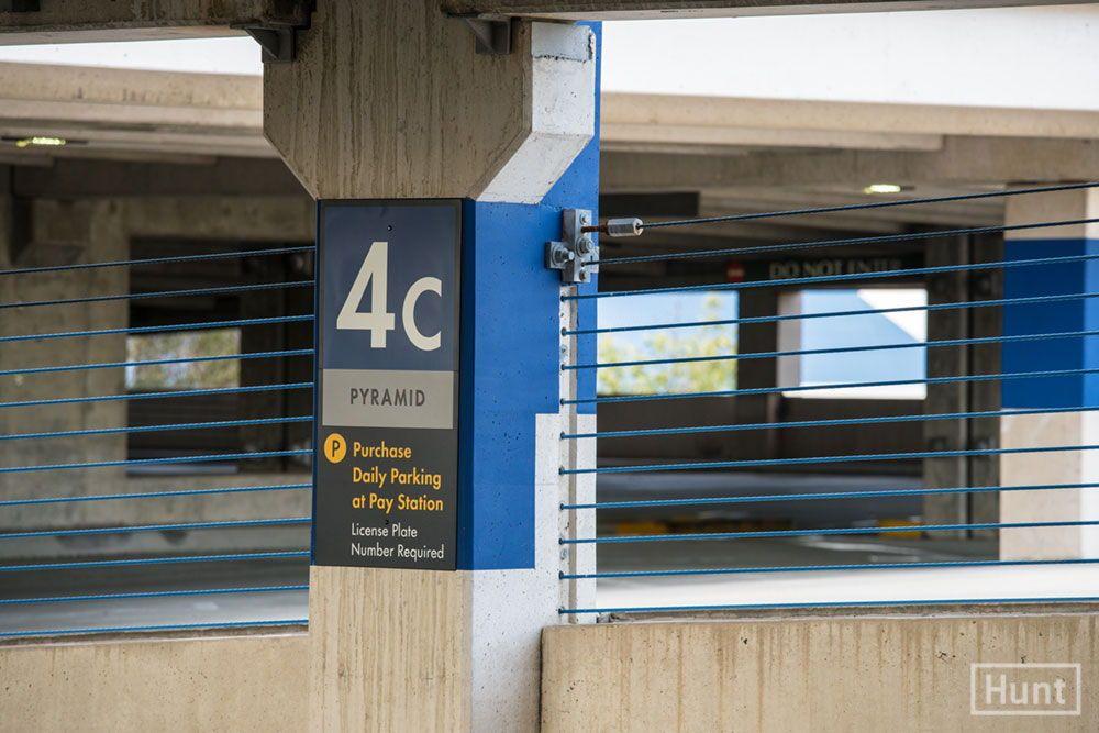 Comprehensive Parking Signage Program Encompassing Over A Thousand