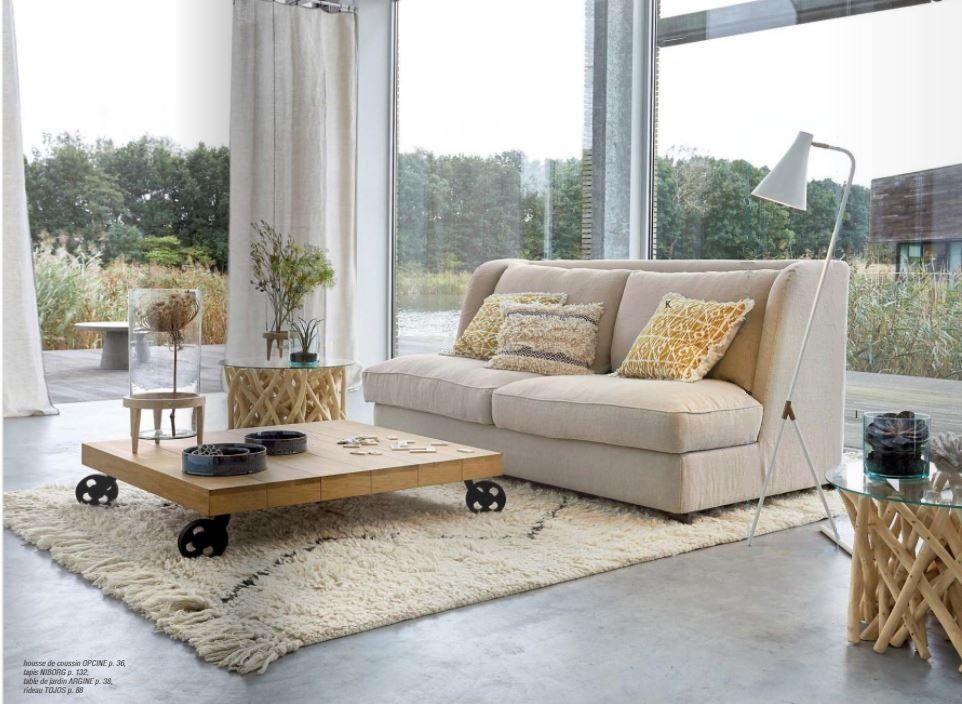 Catalogue AMPM Printemps été Décoration Et Meuble Dintérieur - Canapé 3 places pour decoration d interieur design