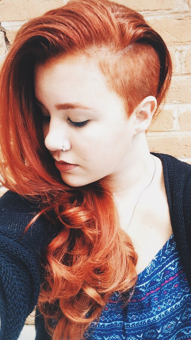 Hairdare Ginger Redhair Redhead Red Hair Hairstyle