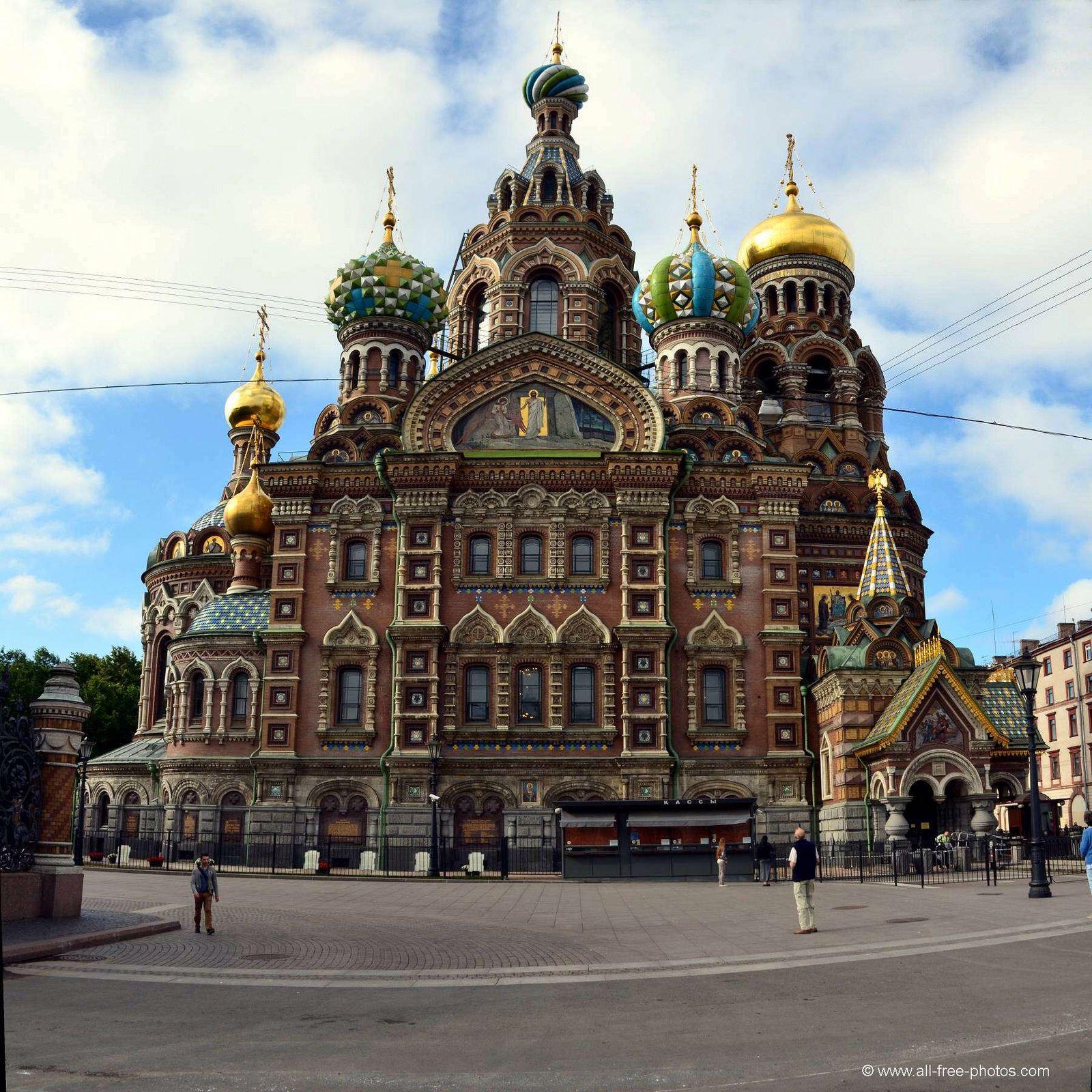 Iglesia del Salvador Sobre La Sangre Derramada en San Petersburgo ...