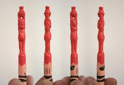 Diem Chau's Zodiac Crayons - the pig. Get in-depth info on the Chinese Zodiac Pig personality & traits @ http://www.buildingbeautifulsouls.com/zodiac-signs/chinese-zodiac-signs-meanings/year-of-the-pig-boar/