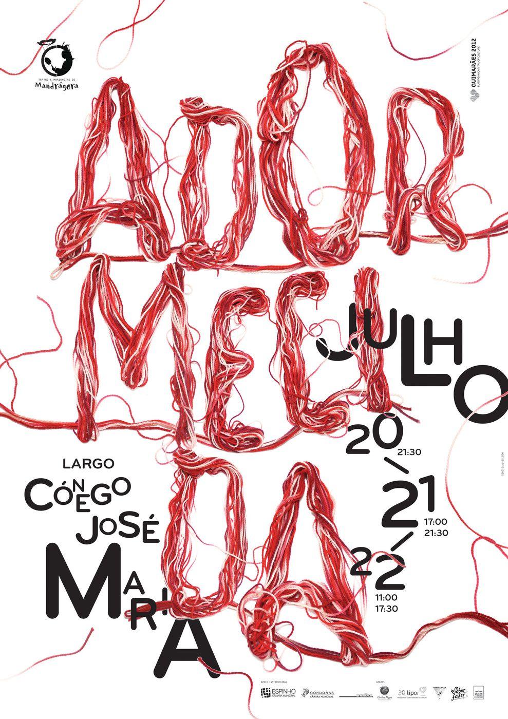 atelier d'alves - typo/graphic posters