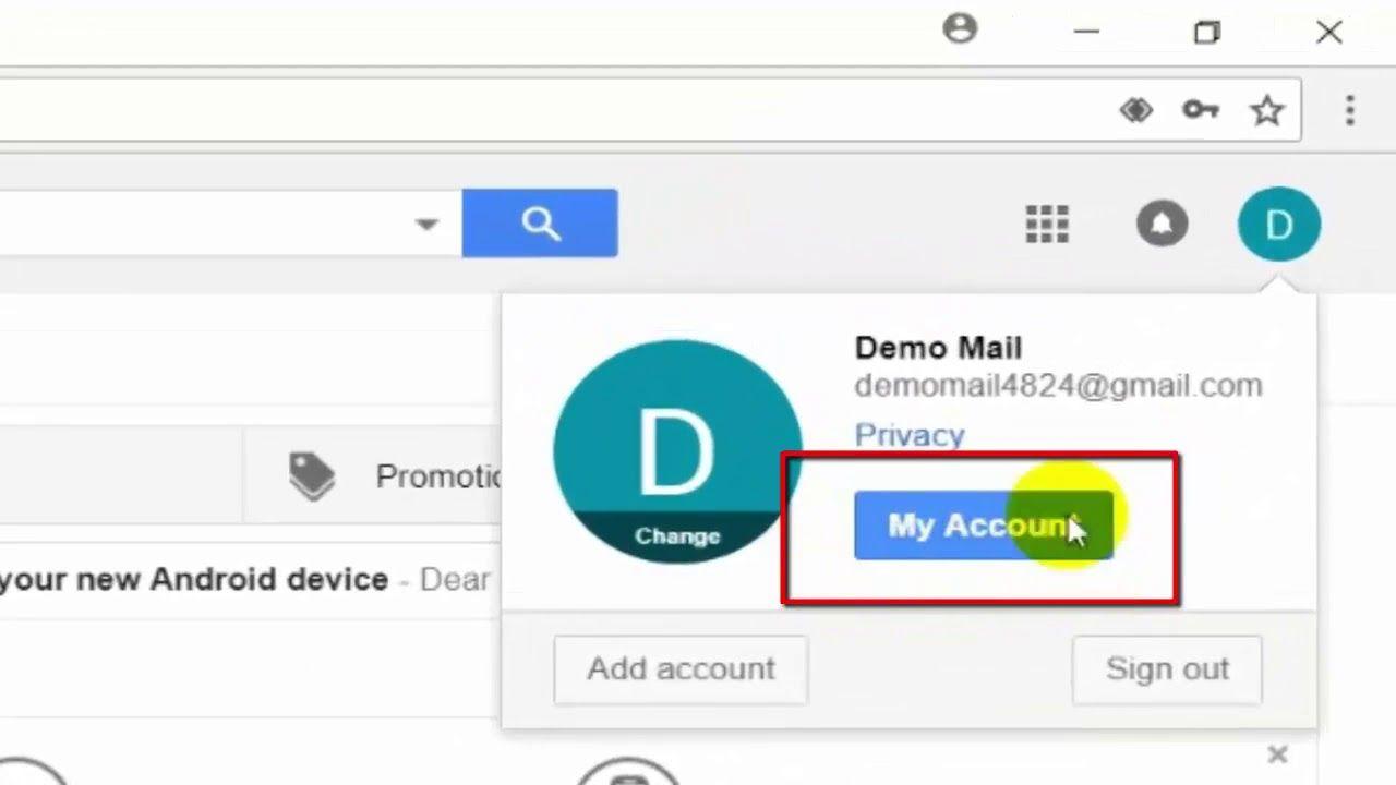 How To Change Google Gmail Profile Name Youtube Youtube Names Change