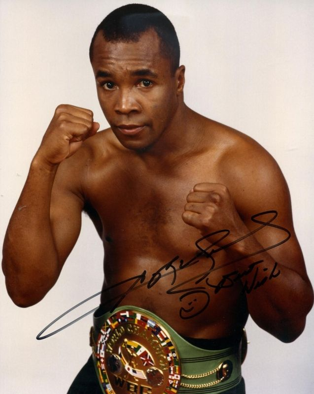 Sugar Ray Leonard Our favorite! www.ItsAlreadySigned4U.com