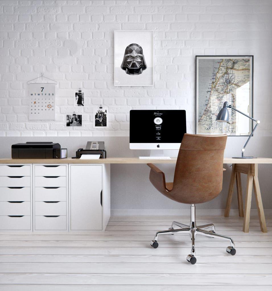Skandinavische Arbeitszimmer Von Int2architecture