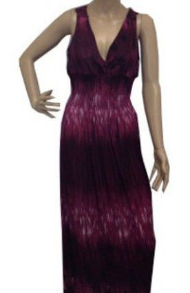 c106f4715d3 NEW DARK MAROON PURPLE BLACK FLORAL FLOWER LACE SUN PARTY MAXI DRESS SIZE M  XL  Unbranded  Maxi  Casual