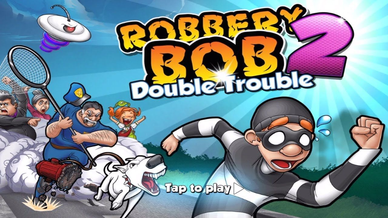 robbery bob 2 mod apk hack download android