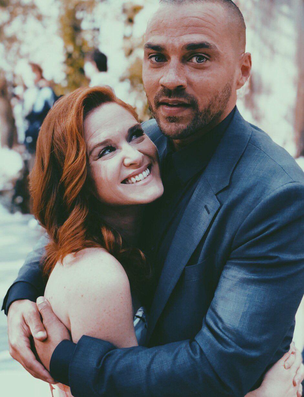 Grey's Anatomy's 'Japril' Reunited: Sarah Drew Shares Behind-the-Scenes Photo From Her Return as April Kepner!!!