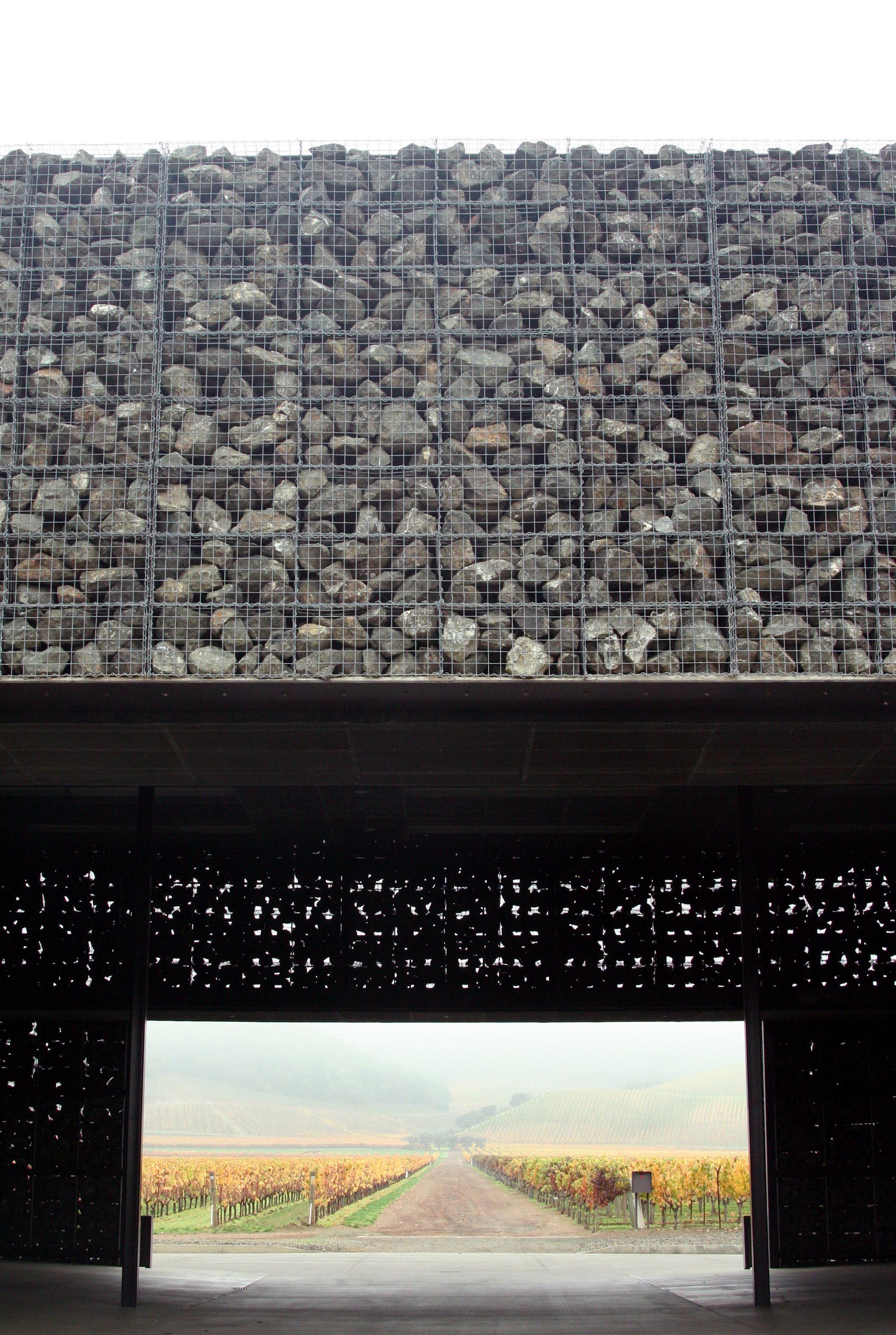 Dominus winery cool sign pinterest architektur und for Minimalismus architektur