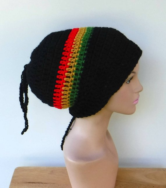 aa24953f793 2 in 1 Dread tube or slouchy hat