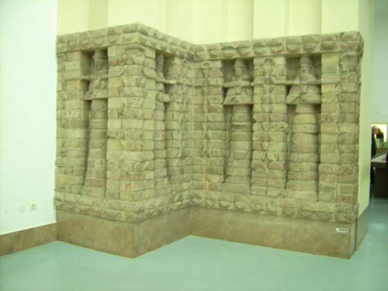 Part The Front Of The Inanna Temple Of The Kara Indasch From Uruk Sumerian Ancient Sumerian Mesopotamia