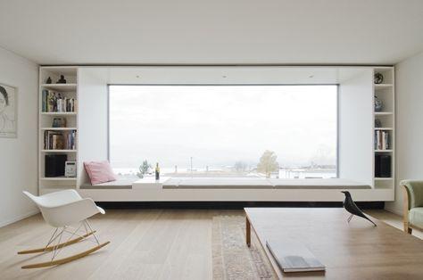 Großes Fenster Im Wohnzimmer Einrichten Und Wohnen Sitzf