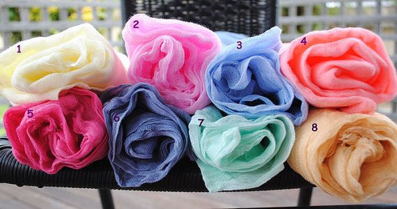 Cheesecloth Newborn Baby Wrap Maternity Cotton by JMagicBaby, $10.00