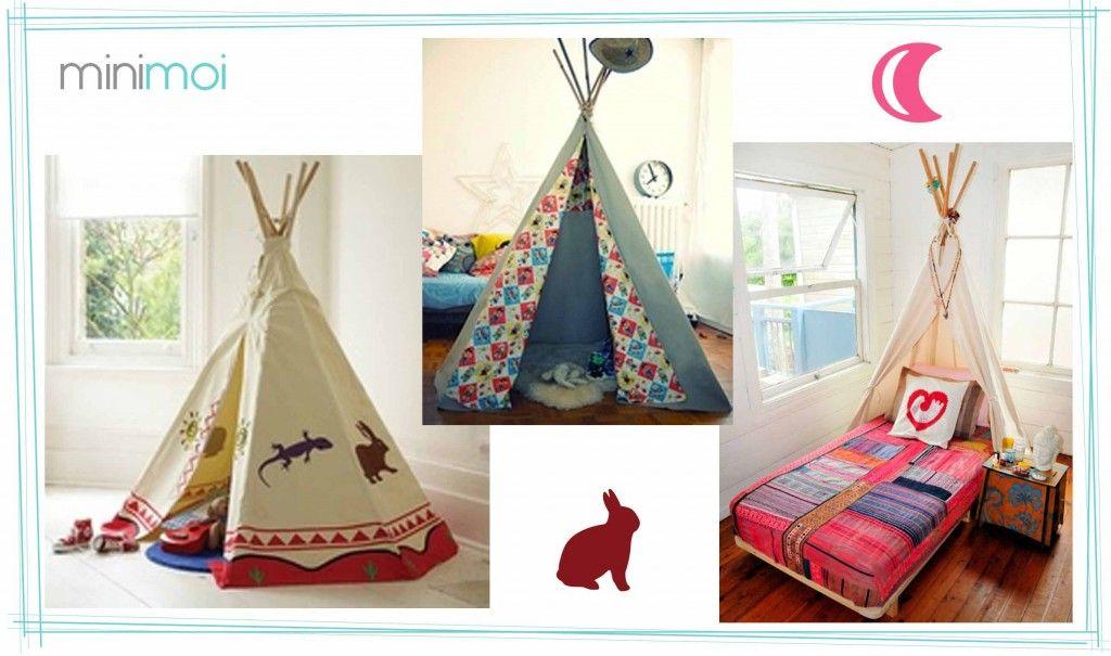 Tipis para decorar la habitación infantil - Minimoi