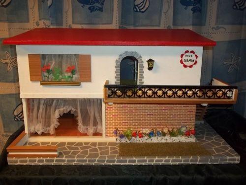 puppenhaus mit licht klingel voll eingerichtet original puppenstube ddr h user pinterest. Black Bedroom Furniture Sets. Home Design Ideas