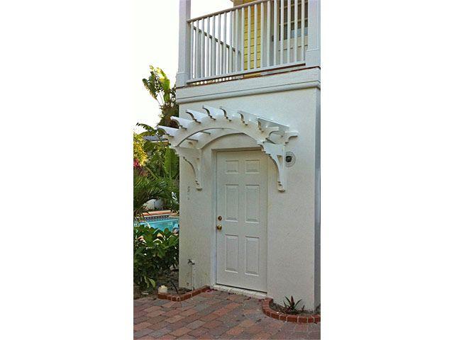 Custom Trellis Above Door Interesting Door Pergola With