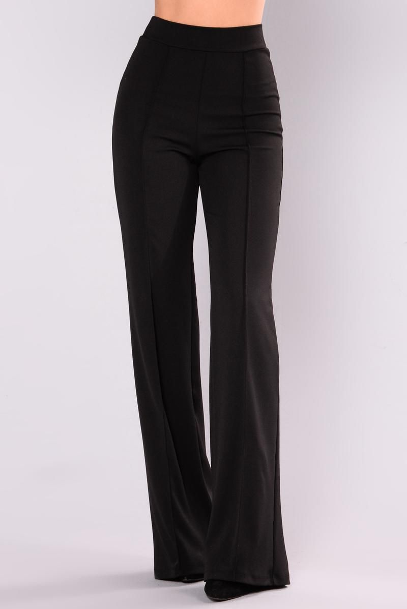 bd9344f377d8 Victoria High Waisted Dress Pants - Black | Unspecified List | High ...