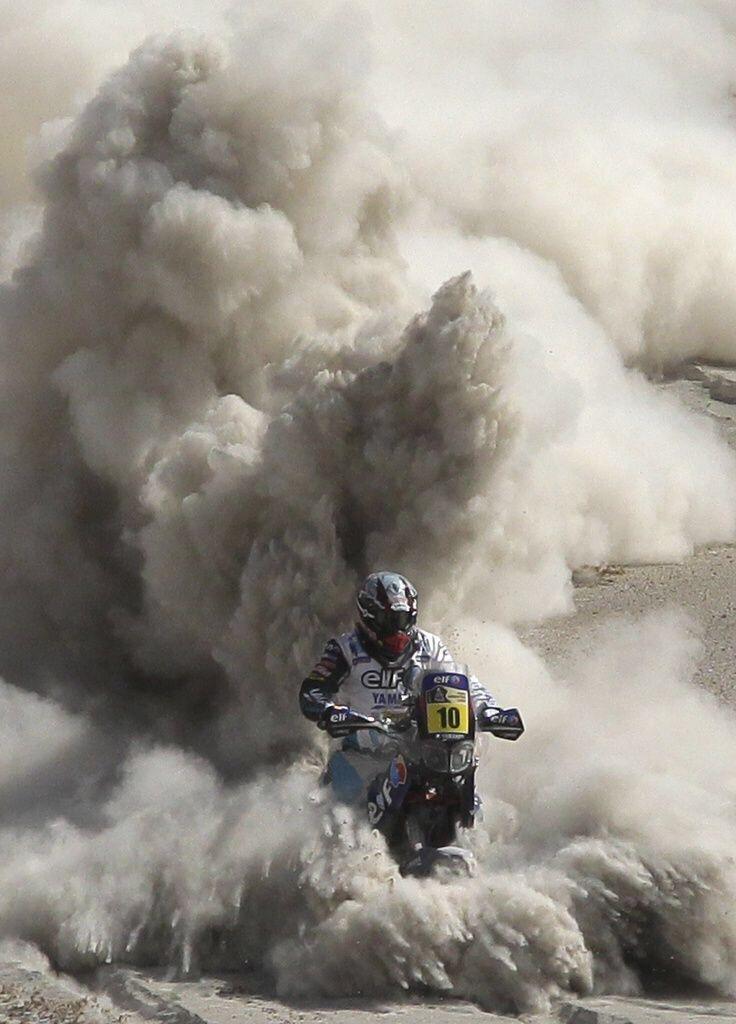 Dakar 2015 starts in January.