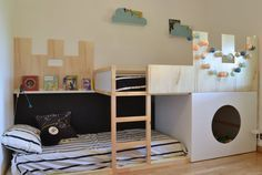 lit Ikéa double mezzanine   Chambre enfants   Pinterest