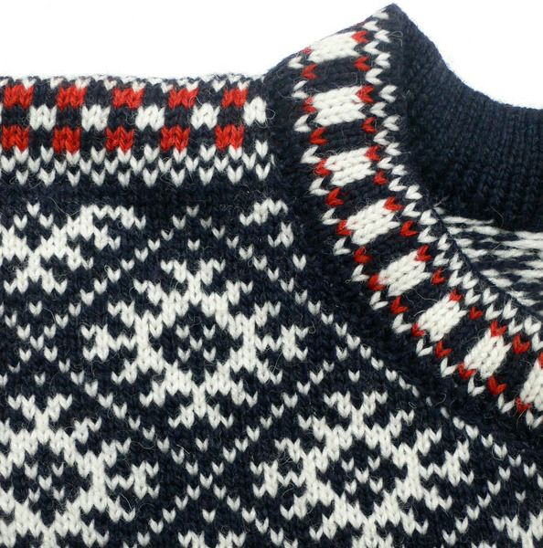 pullover klassisch sch n gestrickter norweger aus. Black Bedroom Furniture Sets. Home Design Ideas