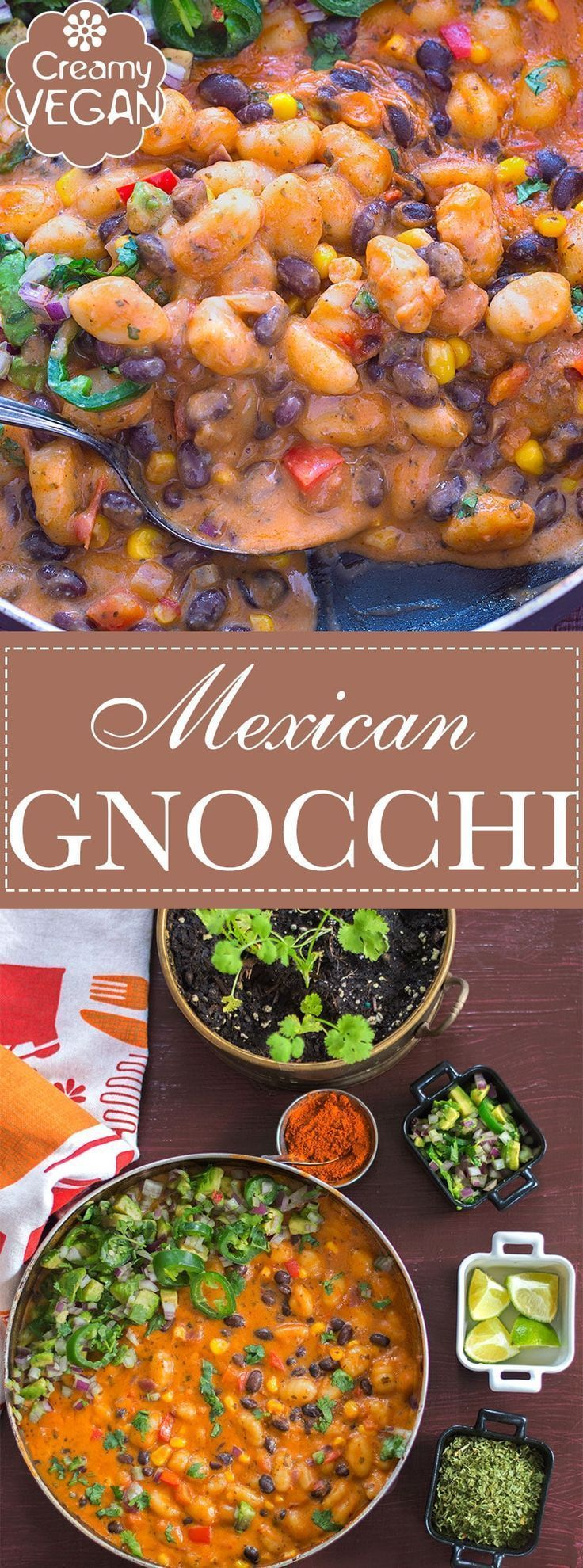 This vegan mexican gnocchi recipe is the perfect comfort food its a this vegan mexican gnocchi recipe is the perfect comfort food its a quick and easy one pot weeknight dinner recipe for the whole family to enjoy forumfinder Images