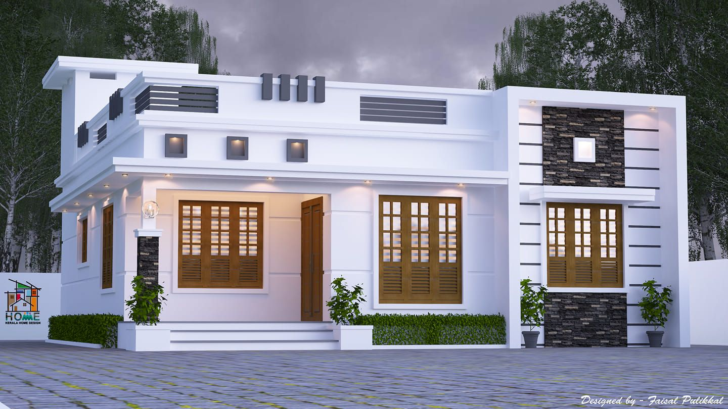 Awesome Single Floor 4 Bedroom House Plans Kerala (4 ...