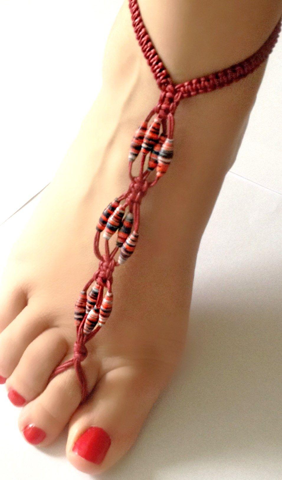 Ideales para lucir unos lindos pies este verano http://de.dawanda.com/shop/burrimariateresa