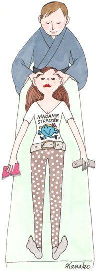 Massage away your stress