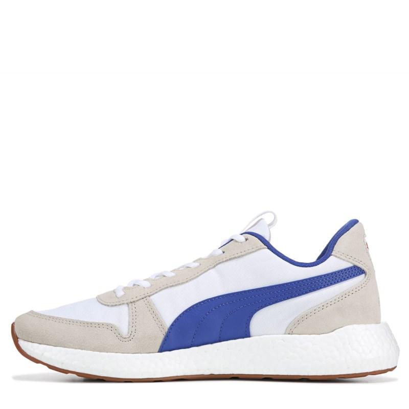 Neko Retro Sneakers (White/Navy/Red