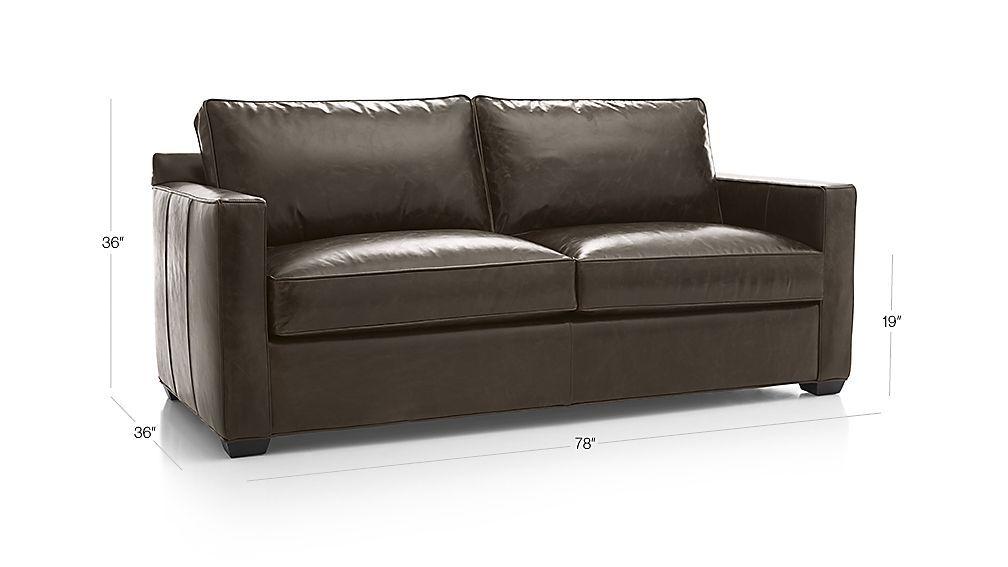 Davis Leather Sofa Sofa Leather Sofa Love Seat