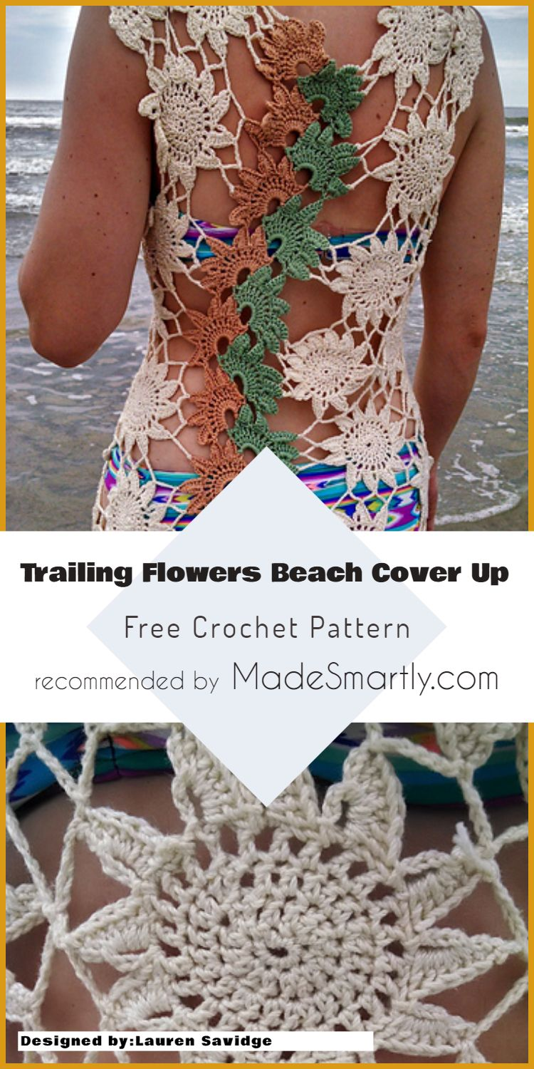 Crochet Beach Cover Up Free Patterns And Easy Ideas