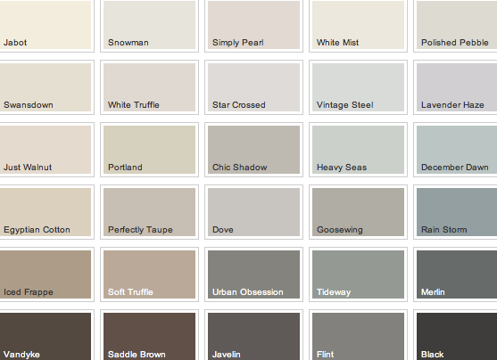 Find The Perfect Wall Colour To Match Your Floors With