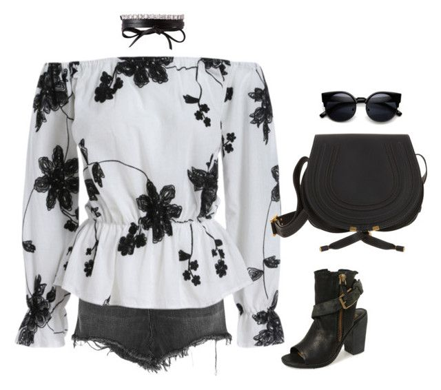 """""""Untitled #351"""" by sahana-raghu ❤ liked on Polyvore featuring Alexander Wang, Chloé, Dolce Vita and Fallon"""