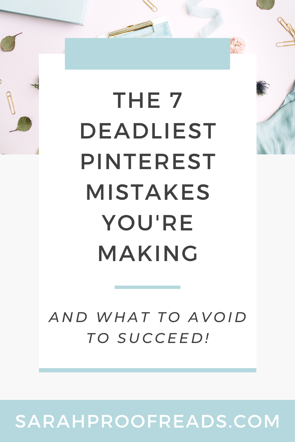 If your pins aren't getting any traction, you may be making one of these deadly Pinterest mistakes! Read this to learn what you need to avoid in order to succeed with Pinterest! Pinterest marketing | Tailwind | Pinterest marketing tips | Pinterest mistakes | Pinterest marketing strategy | viral pins | Pinterest marketing course | Canva design | blogging tips | how to grow Pinterest | blogging tips for beginners | blog marketing | blogging for business | social media marketing tips #viralpins