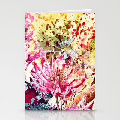 waterlily Stationery Cards by clemm - $12.00