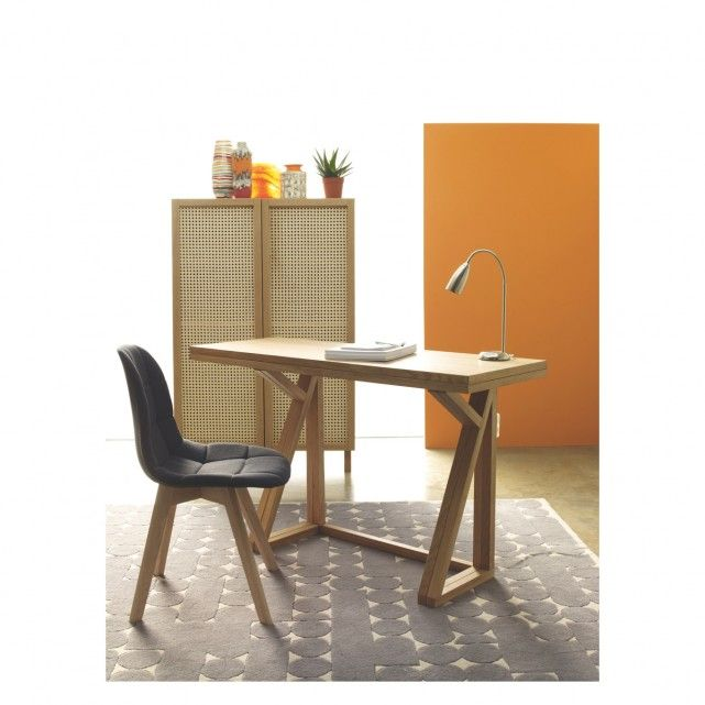 HEATH - seat oak folding dining table  Spare room Desks and