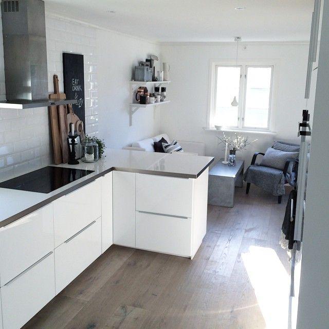 küche weiß küche Pinterest Kitchens, Interiors and House goals - küche weiß matt grifflos