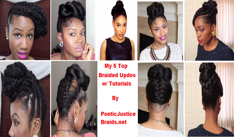Braided Updo Hairstyles For Natural Black Women In 2015 Braided Hairstyles Updo Braided Bun Hairstyles Casual Hairstyles For Long Hair