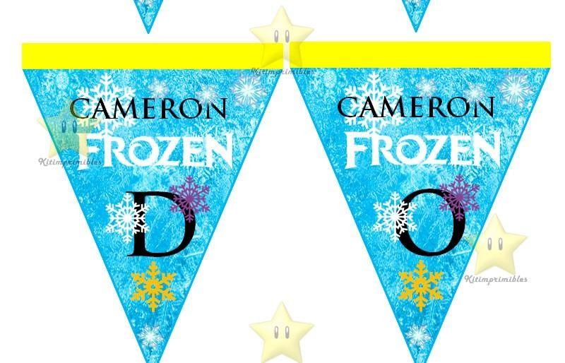Kit Imprimible Frozen Invitaciones Fiesta Disney Cajitas | Ideias ...