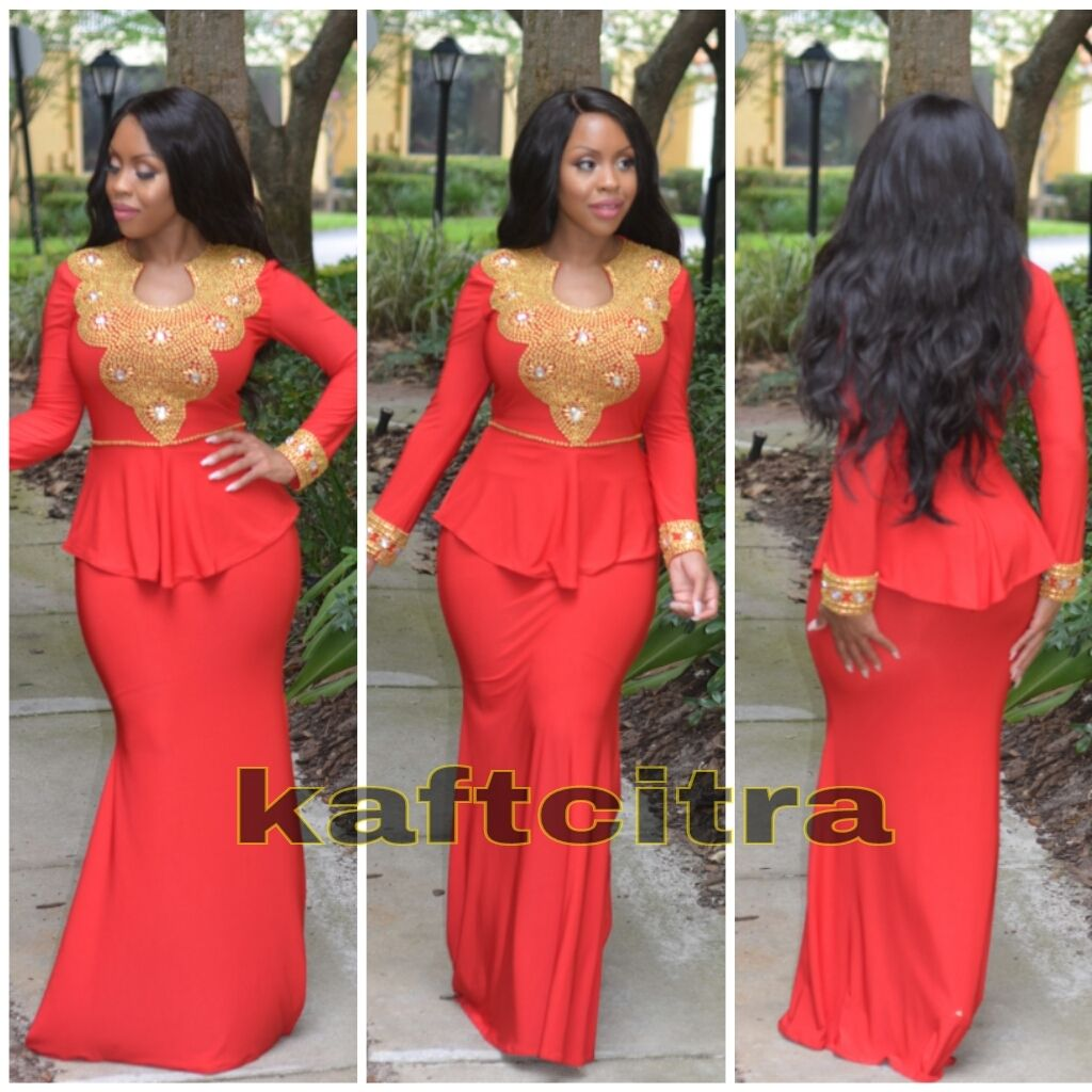 Theresa premium kaftan african fashion ankara kitenge african