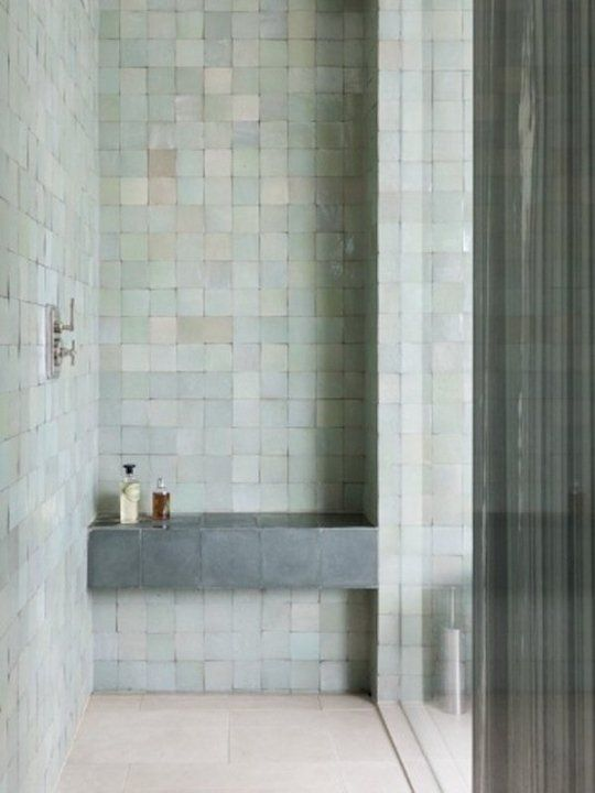 Why Zellige Tiles Are Right For Right Now Pastell Badezimmer Badezimmer Badezimmer Design