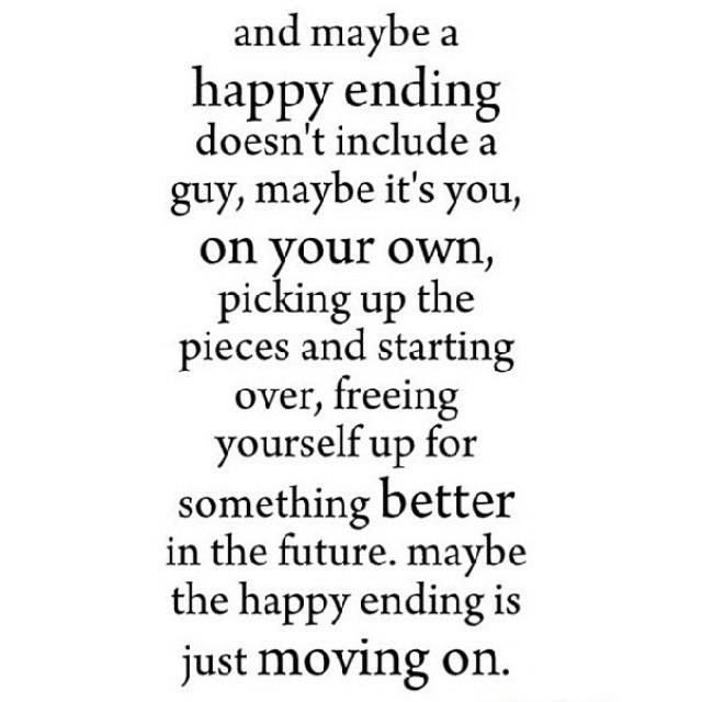 Breaking Up And Moving On Quotes :