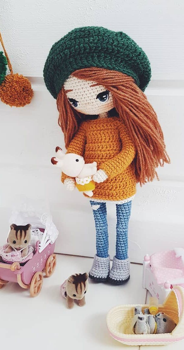 35+ Beautiful Amigurumi Doll Crochet Ideas and Images - Page 7 of 35 #crochetdolls