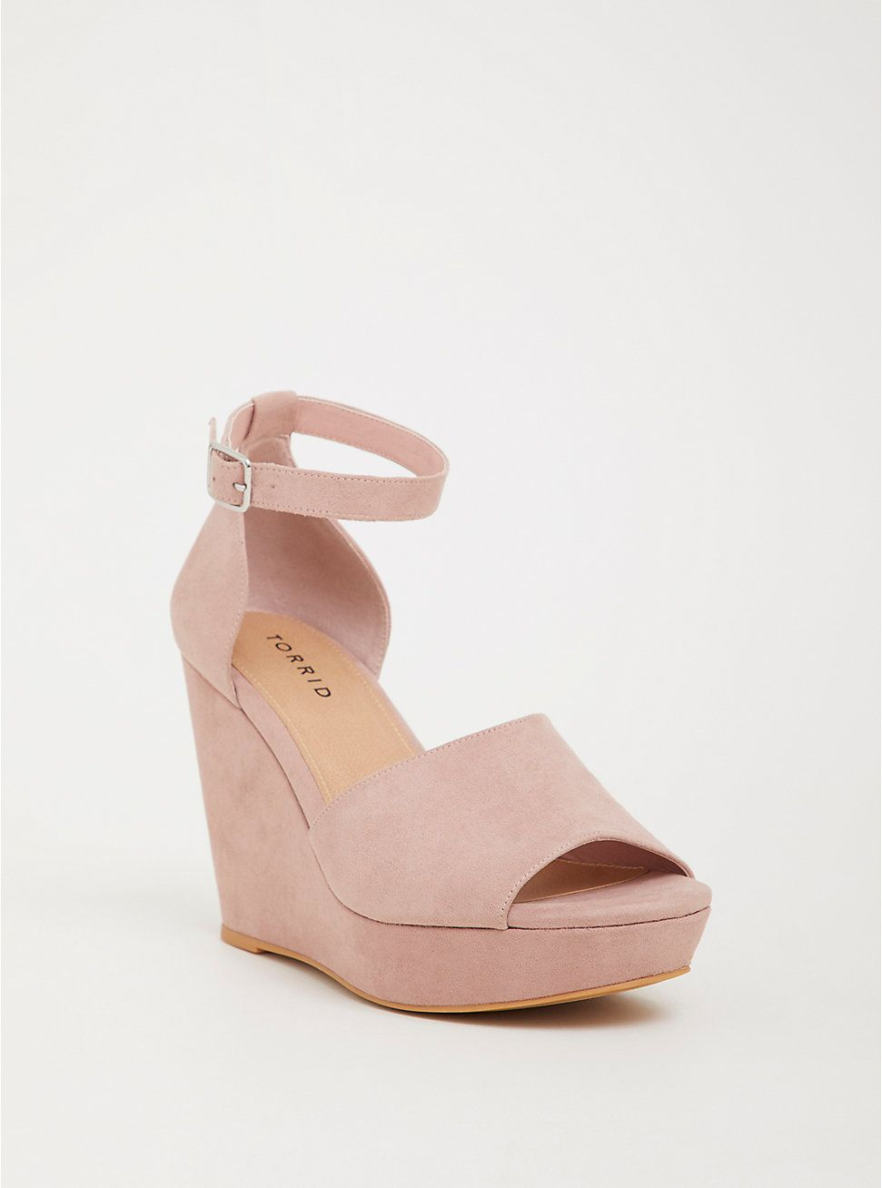 f3cb97f87af Blush Platform Wedge (Wide Width) in 2019 | Clothes | Blush wedges ...