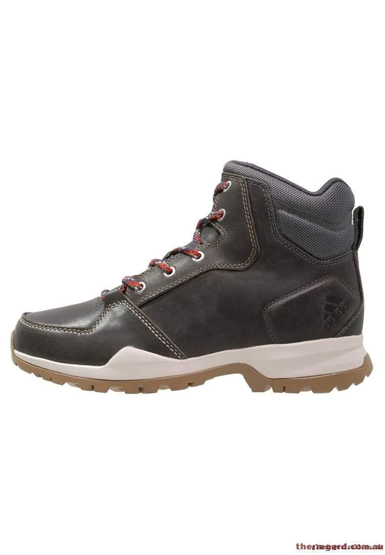 Brown Adidas Walking Shoes   Walking boots, Men hiking, Adidas ...