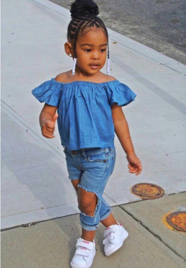 kids with natural hair and braids #braids | Black kids hairstyles, Lil girl hairstyles, Kids ...