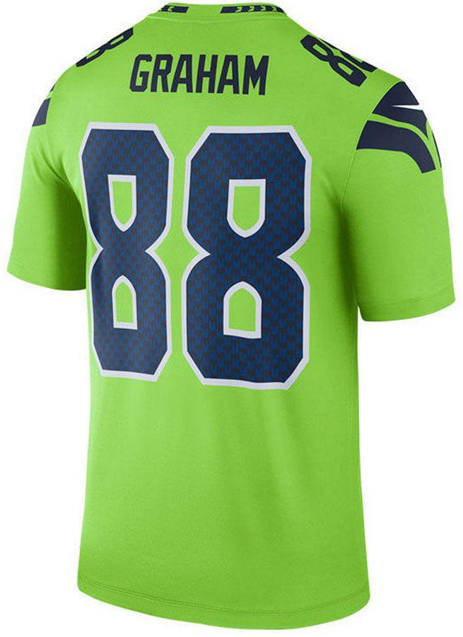 half off 2068e a65de Nike Men's Jimmy Graham Seattle Seahawks Legend Color Rush ...