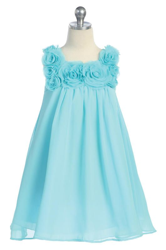 flower girl dress- just the color I want for my wedding :)